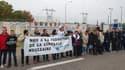 Manifestation contre la fermeture de la centrale nucléaire de Fessenheim, en 2015.