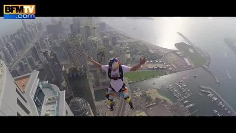 Base Jump : ils s'élancent depuis la Princess Tower Dubai
