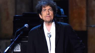 Bob Dylan sur scène le 6 février 2015