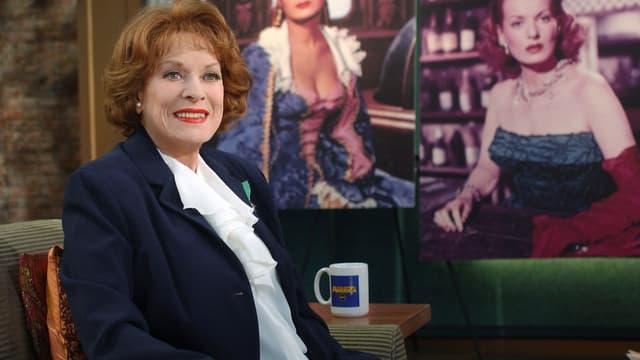 Maureen O'Hara, le 17 mars 2004