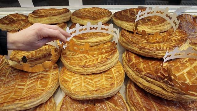 Galette des Rois dans une boulangerie (Photo d'illustration)