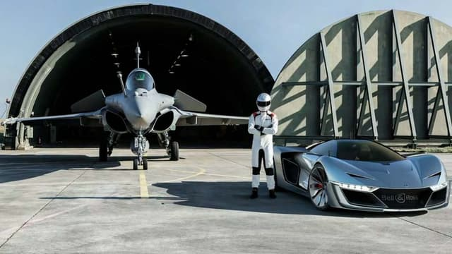 Le concept Aero GT a bien inspiré des montres, non un avion de chasse, au directeur de la création de Bell&Ross.
