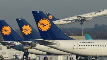 Des avions de la compagnie Lufthansa (photo d'illustration).