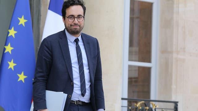 Mounir Mahjoubi, le secrétaire d'Etat en charge du numérique.