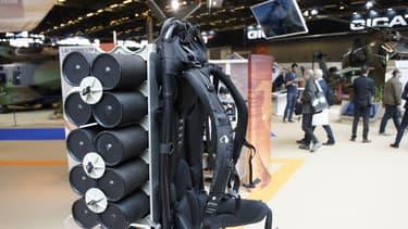 L'exosquelette Hercule de la société RB3D.
