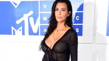 Kim Kardashian le 28 août 2016