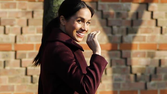 Meghan Markle à Londres en novembre 2018