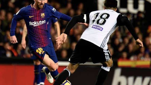 Lionel Messi contre Valence