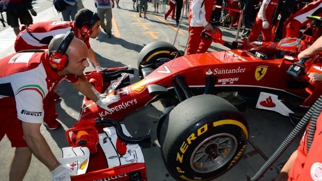 La Ferrari de Kimi Raïkkönen