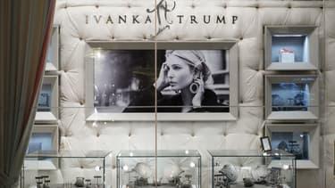 Une boutique Ivanka Trump.