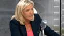 Marine Le Pen, ce mardi sur RMC et BFMTV