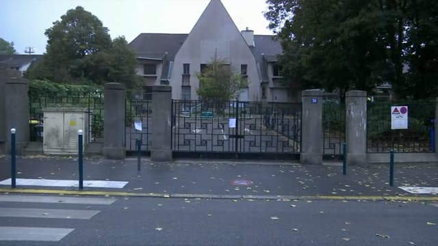 L'école de Pantin où une directrice s'est suicidée, en septembre 2019.