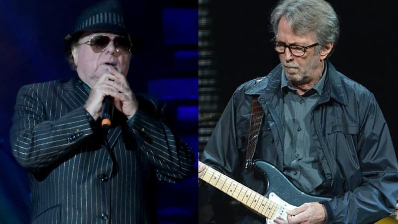 """""""Stand and deliver"""": Eric Clapton et Van Morrison sortent un single anti-confinement"""