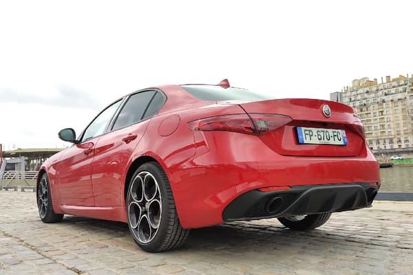 Alfa Romeo veut conserver le caractère sportif de la Giulia mais éviter le malus souvent associé à ce genre de modèle.