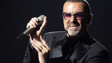Le chanteur George Michael.