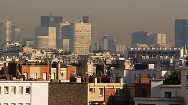 Une pollution aux particules fines est attendue en région parisienne lundi 4 mars 2013.