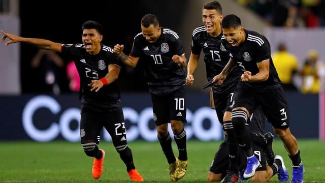 Le Mexique s'est qualifié  après les tirs au but