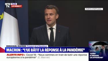 """Emmanuel Macron sur la vaccination: """"Nous avons été plus lents parce que nous avons été plus ouverts, mais nous avons été plus généreux que tous les autres réunis"""""""