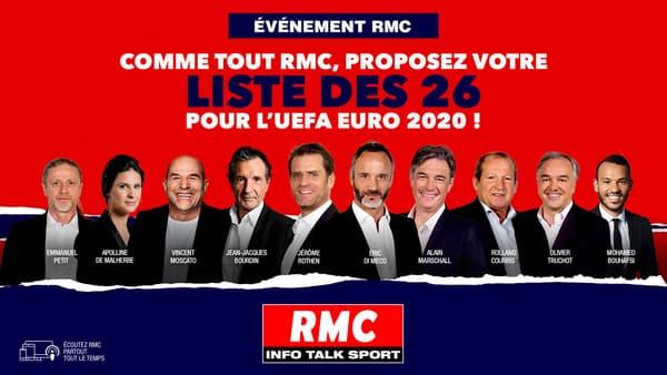 Liste des 26 pour l'Euro 2020