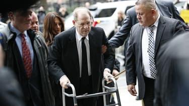 Harvey Weinstein est arrivé au tribunal de New York ce lundi 6 janvier 2020 - KENA BETANCUR / GETTY IMAGES NORTH AMERICA / AFP