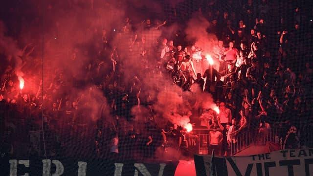 Des supporters de Besiktas