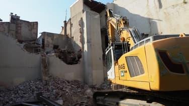 Des logements sont détruits dans le quartier Saint-Jacques.