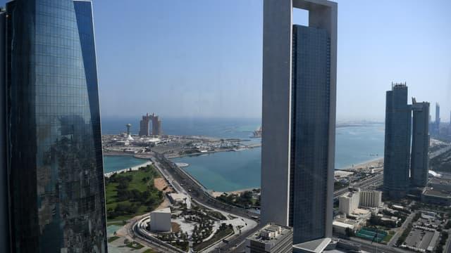 Une vue d'Abou Dhabi