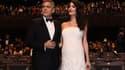 George et Amal Clooney à Paris le 24 février 2017