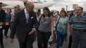 Laurent Fabius a accueilli une quarantaine de chrétiens réfugiés d'Irak jeudi soir à Roissy.