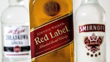 Ce poids lourd mondial est propriétaire de la vodka Smirnoff, du whisky Johnnie Walker et de la bière Guinness.