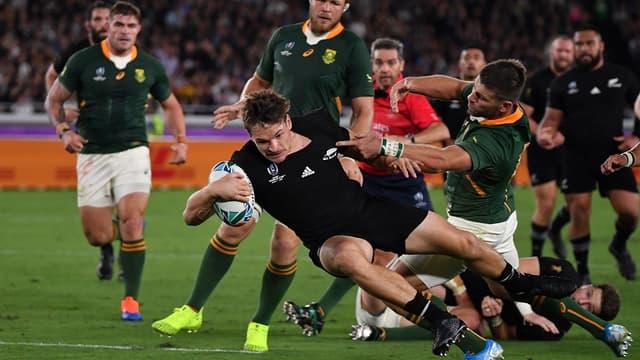 Un combat de tous les instants entre les Springboks et les Blacks