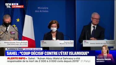 """Florence Parly: """"Nous ne quittons pas le Sahel, la lutte contre le terrorisme reste notre priorité absolue"""""""
