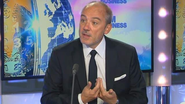 Stéphane Richard était l'invité de BFM Business, ce vendredi 3 octobre.