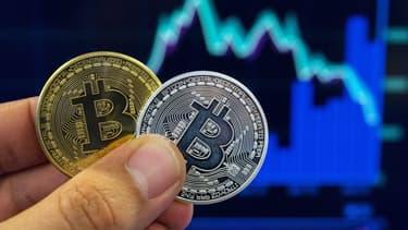 Le bitcoin s'échange actuellement aux alentours de 7400 dollars.