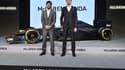 Fernando Alonso et Jenson Button