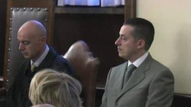 Paolo Gabriele (D) lors son procès, le 6 octobre dernier