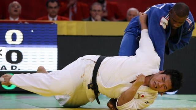 Riner face à Kamikawa lors de la finale 2011 du Tournoi de Paris