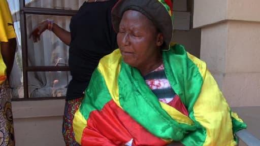 Mama Togo est evidemment du voyage en Afrique du Sud pour soutenir l'équipe nationale