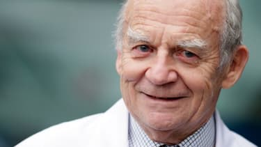 Le professeur Alain Carpentier, père du coeur artificiel que développe aujourd'hui la société Carmat.