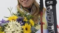 La Française tout sourire à quelques jours des Jeux Olympiques.