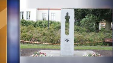 Le mémorial vandalisé
