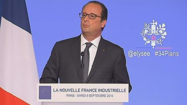 Les paroles de François Hollande vantant le progrès ont eu une certaine résonance auprès des chefs d'entreprises