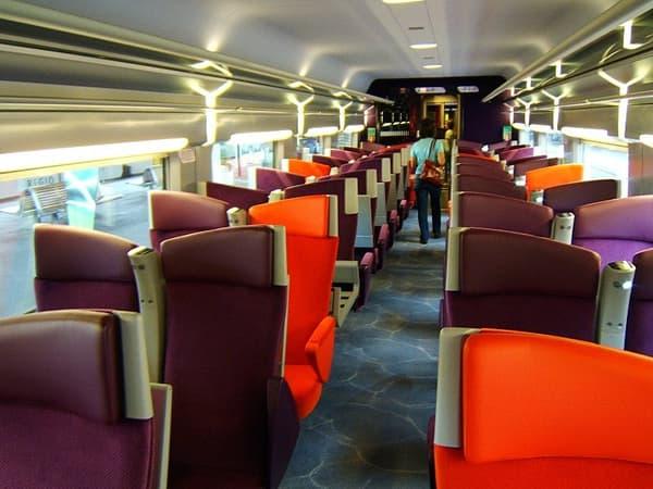 L'aménagement de Christian Lacroix du TGV
