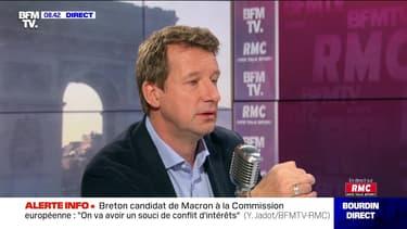 Yannick Jadot face à Jean-Jacques Bourdin en direct - 24/10
