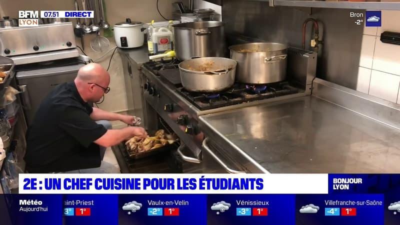 Lyon: un chef cuisine 300 menus à un euro pour les étudiants