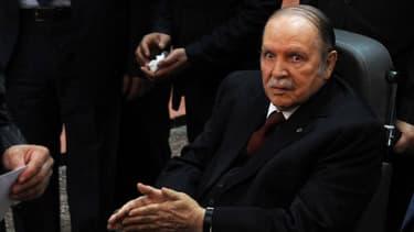 Abdelaziz Bouteflika lors des dernières élections présidentielles en avril dernier.