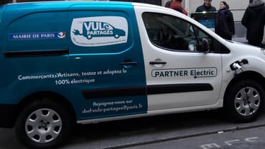Le service VULe partagés s'appuie sur une flotte de Citroën Berlingo, Peugeot Partner et Renault Kangoo électriques.