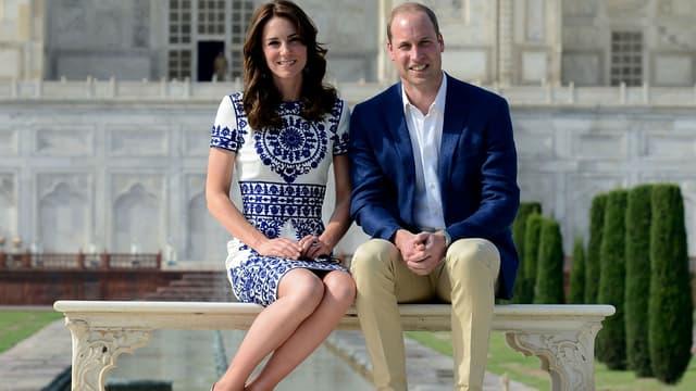 Kate et William au Taj Mahal en 2016