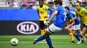 Cristiane Girelli a pu retirer son pénalty face à la Jamaïque et le marquer.