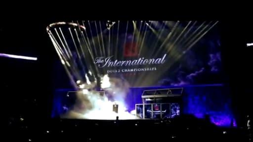 Plus de 10.000 personnes sont venues assister à la finale du tournoi The International.